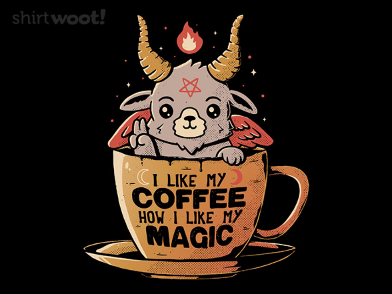 Woot!: Black Coffee