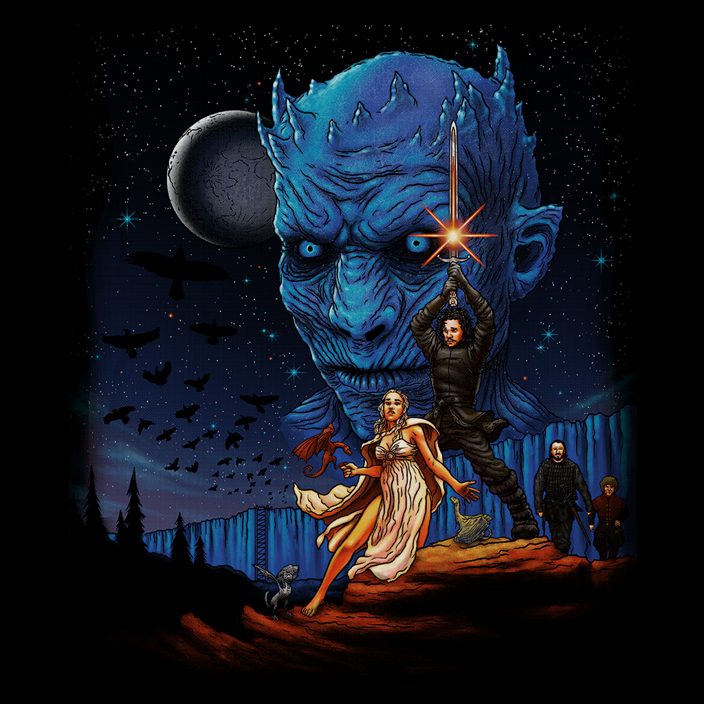 Pop-Up Tee: Throne Wars