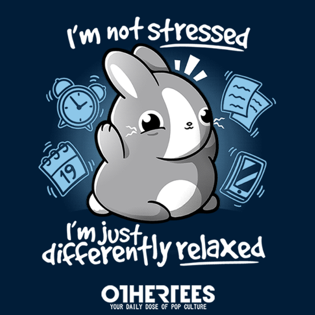 OtherTees: Stressed bunny