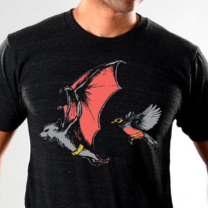 SnorgTees: Bat And Robin Limited Edition Tri-Blend