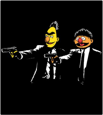 Shirt Battle: Bert Fiction