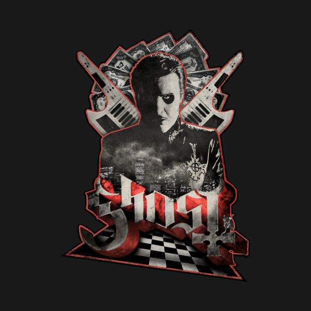TeePublic: Ghost