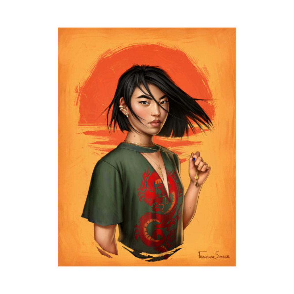 TeePublic: Mulan
