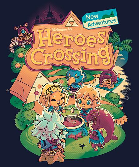 Qwertee: Heroes Crossing