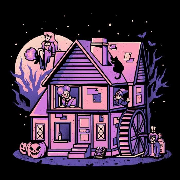 Once Upon a Tee: Salem House