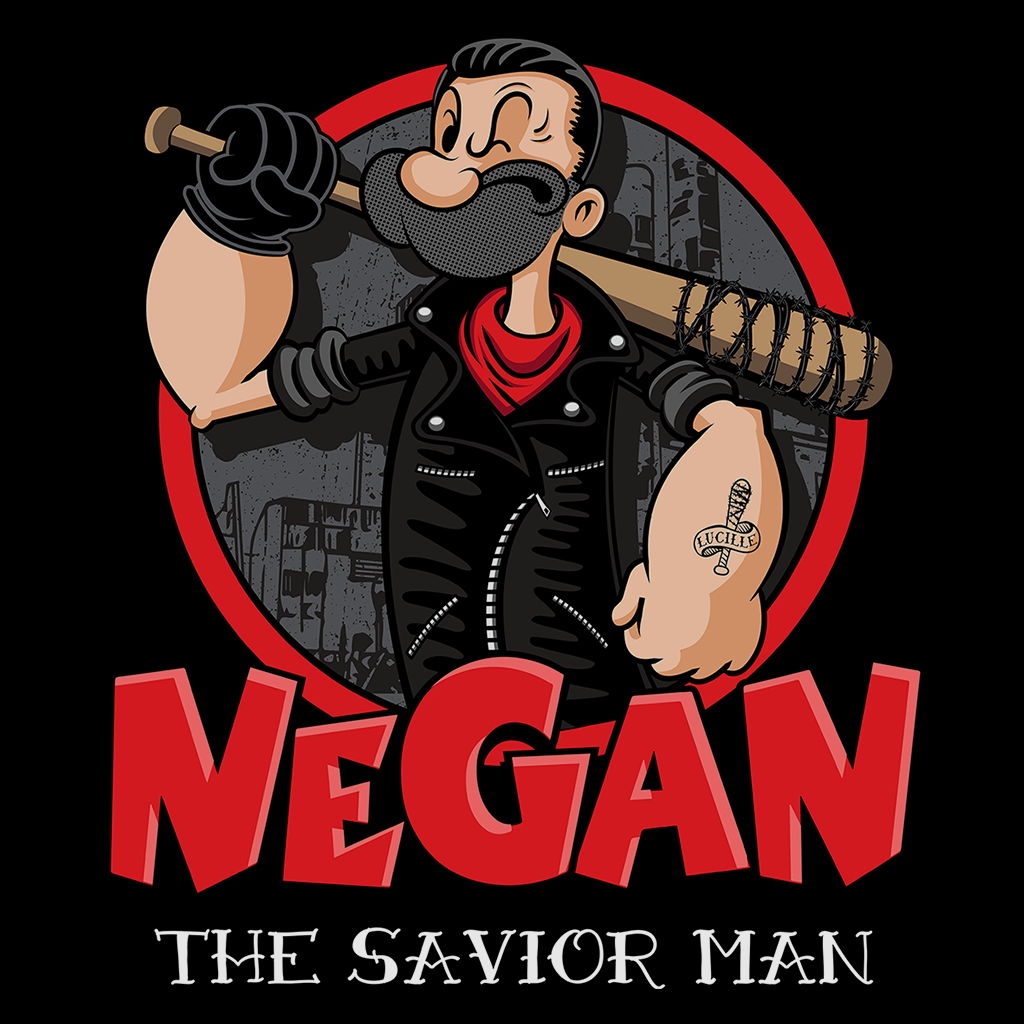 Pop-Up Tee: Negan the Savior Man
