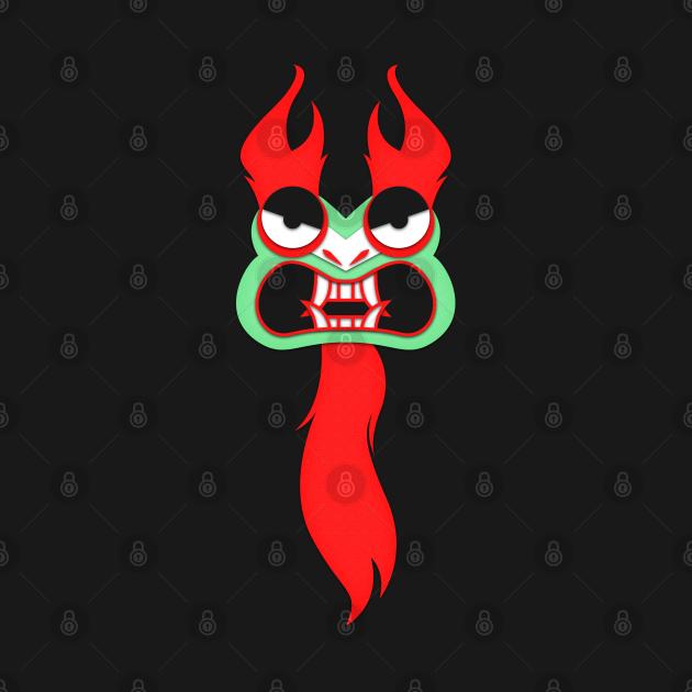 TeePublic: Aku from Samurai Jack