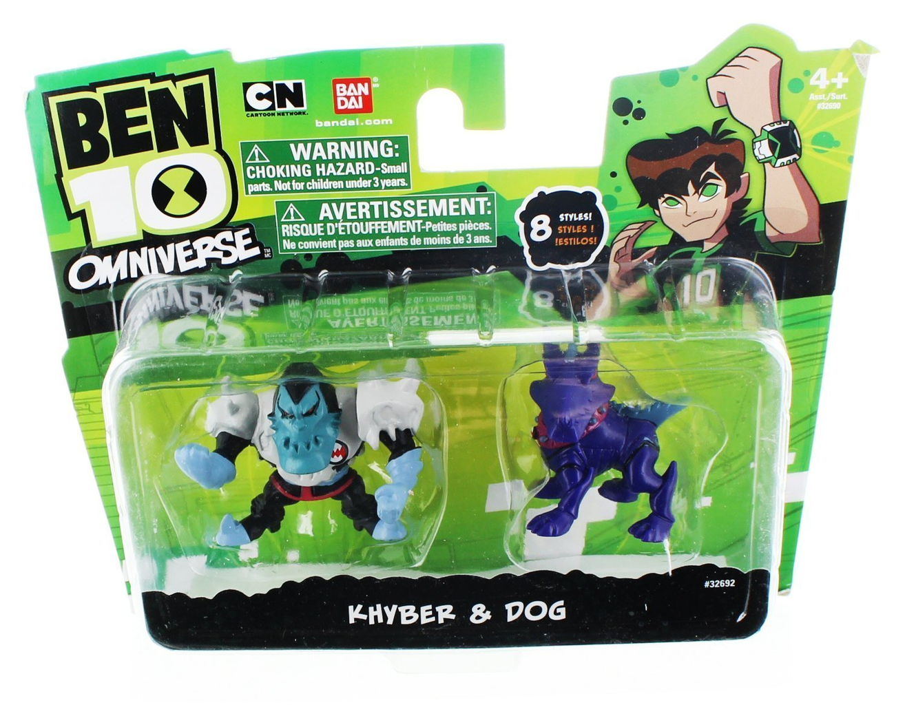 Pop Vulture: Ben 10 Omniverse 2 Inch Mini Figure 2-Pack Khyber & Khyber's Dog