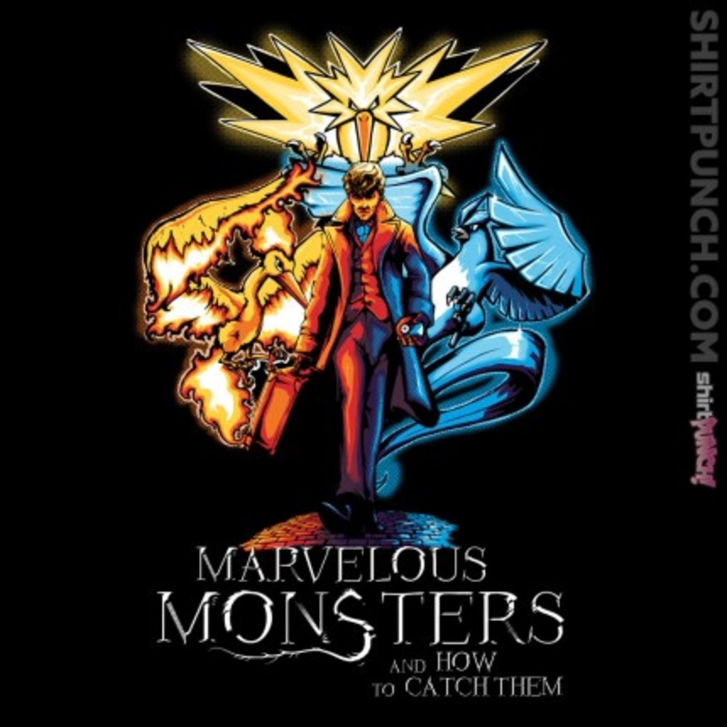 ShirtPunch: Marvelous Monsters