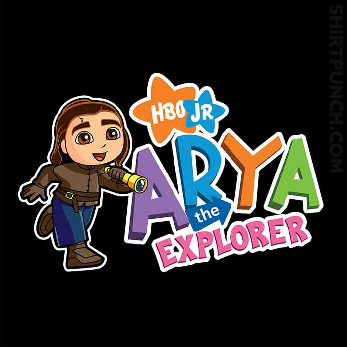 ShirtPunch: Arya The Explorer