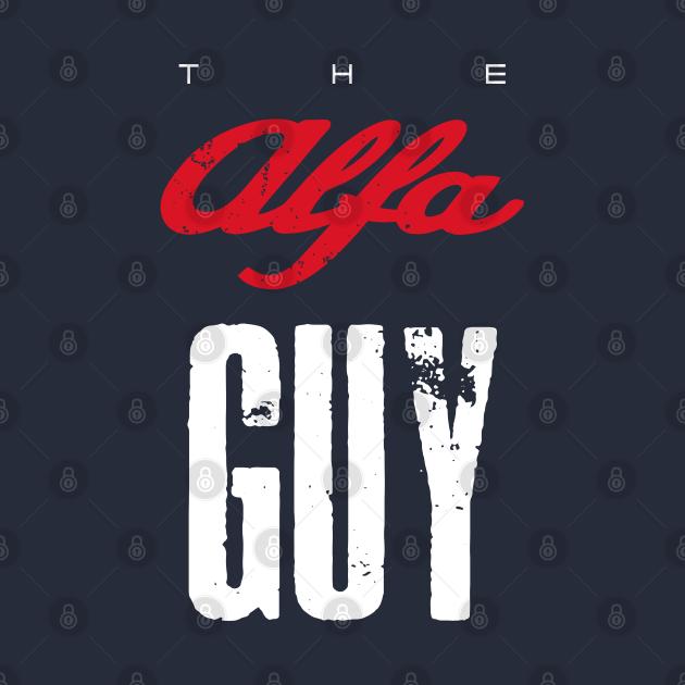 TeePublic: The Alfa Guy t-shirt