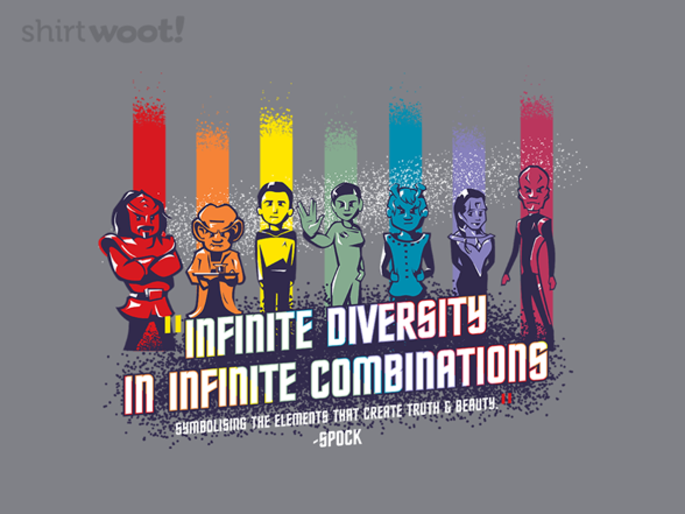Woot!: Infinite Diversity in Infinite Combinations - $15.00 + Free shipping