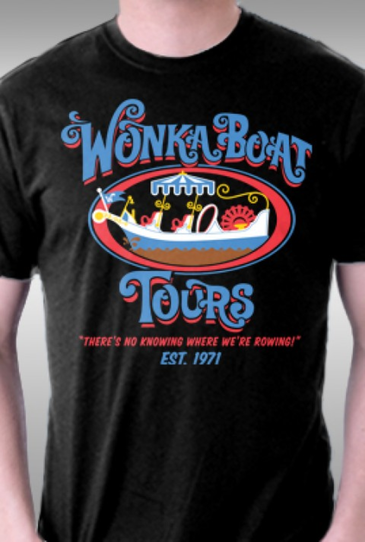 TeeFury: Wonka Boat Tours