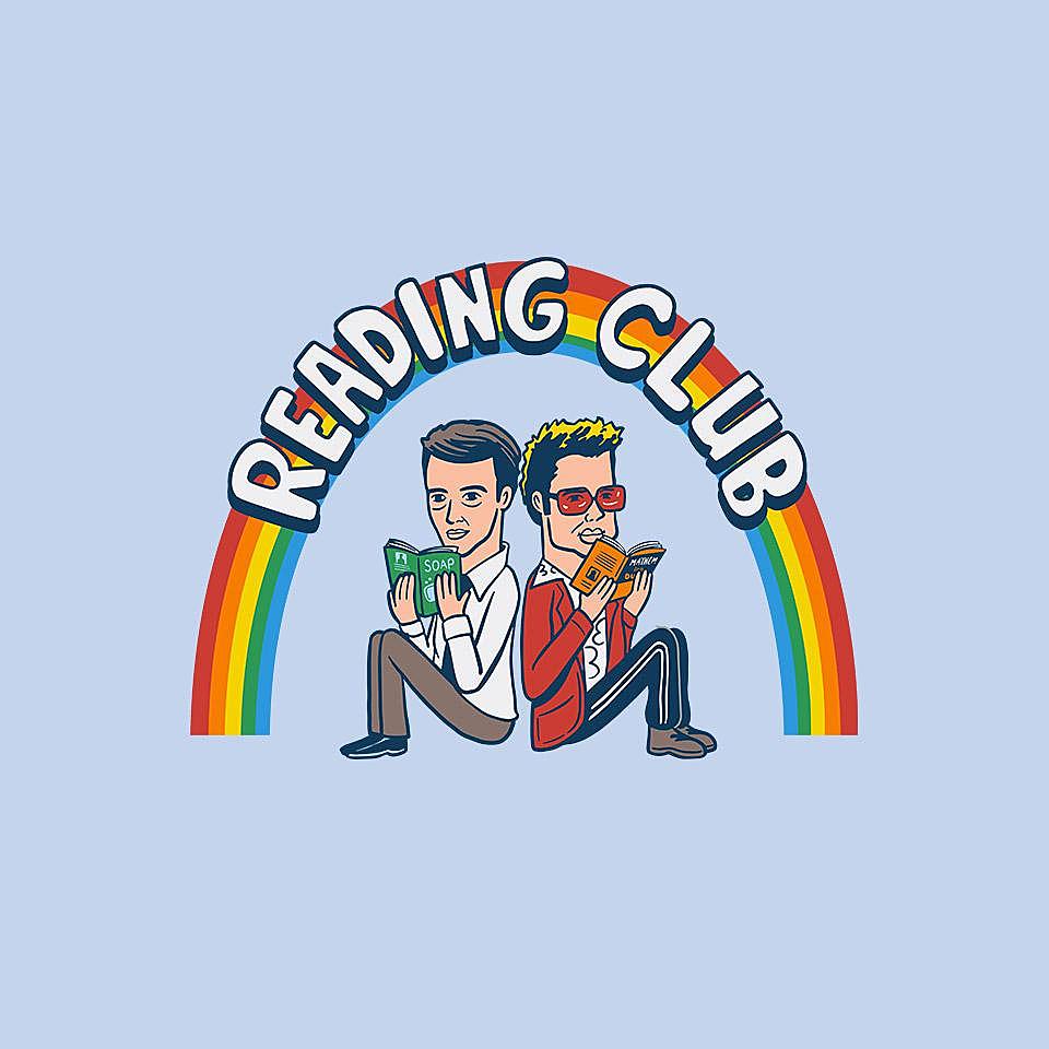 TeeFury: Reading Club