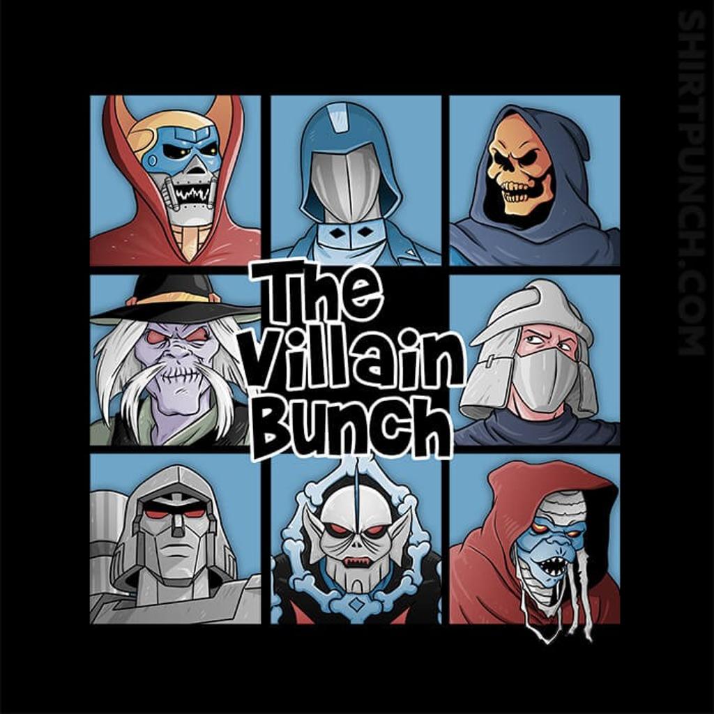 ShirtPunch: The Villain Bunch