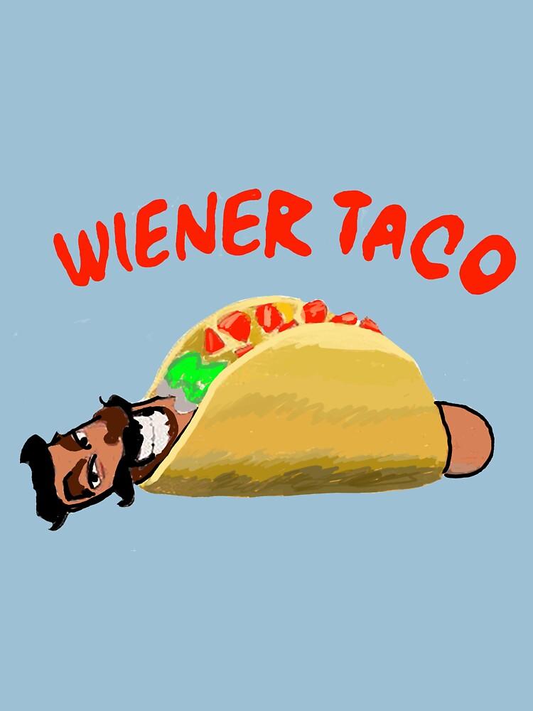 RedBubble: wiener taco