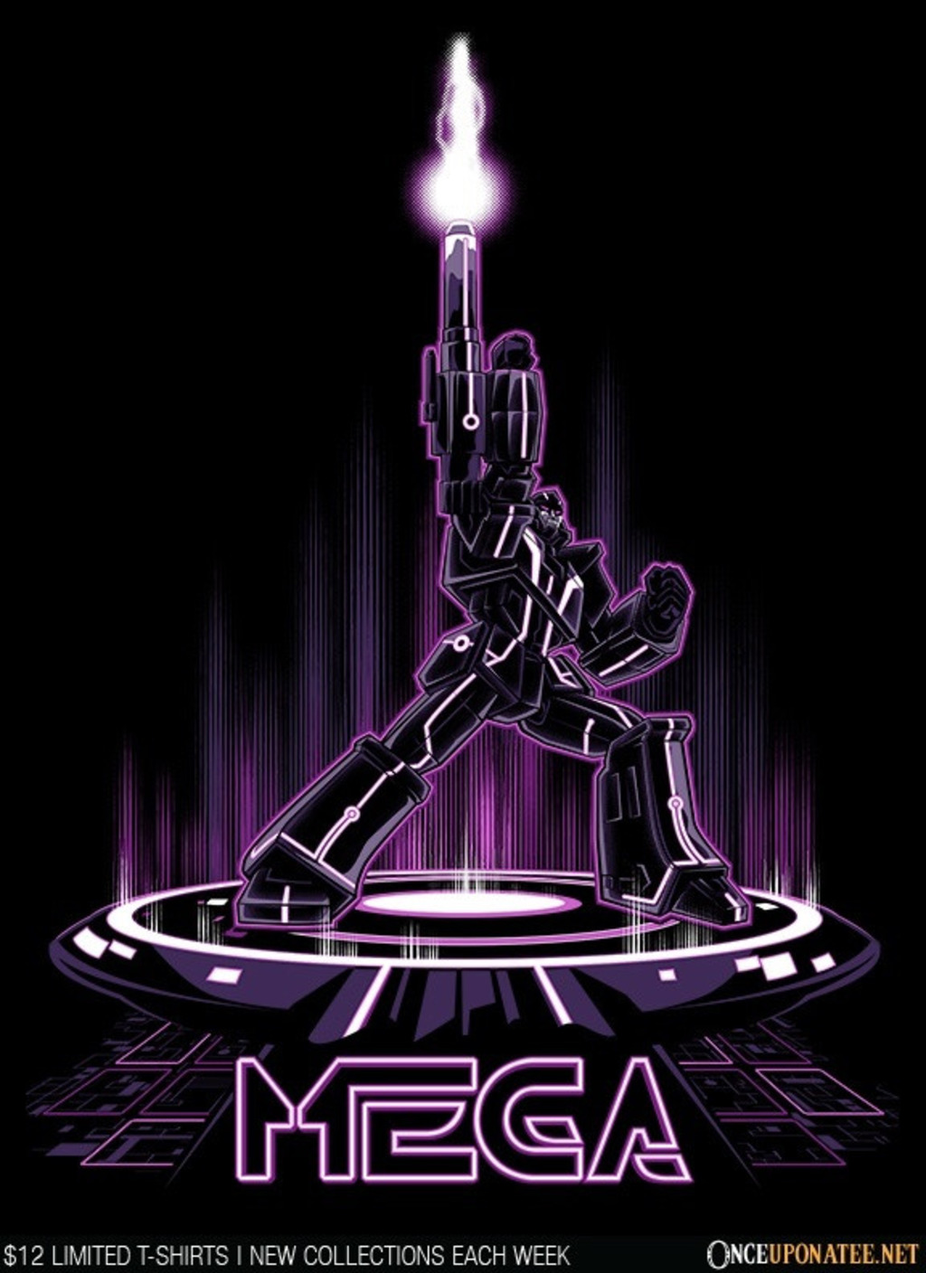 Once Upon a Tee: Tron Mega