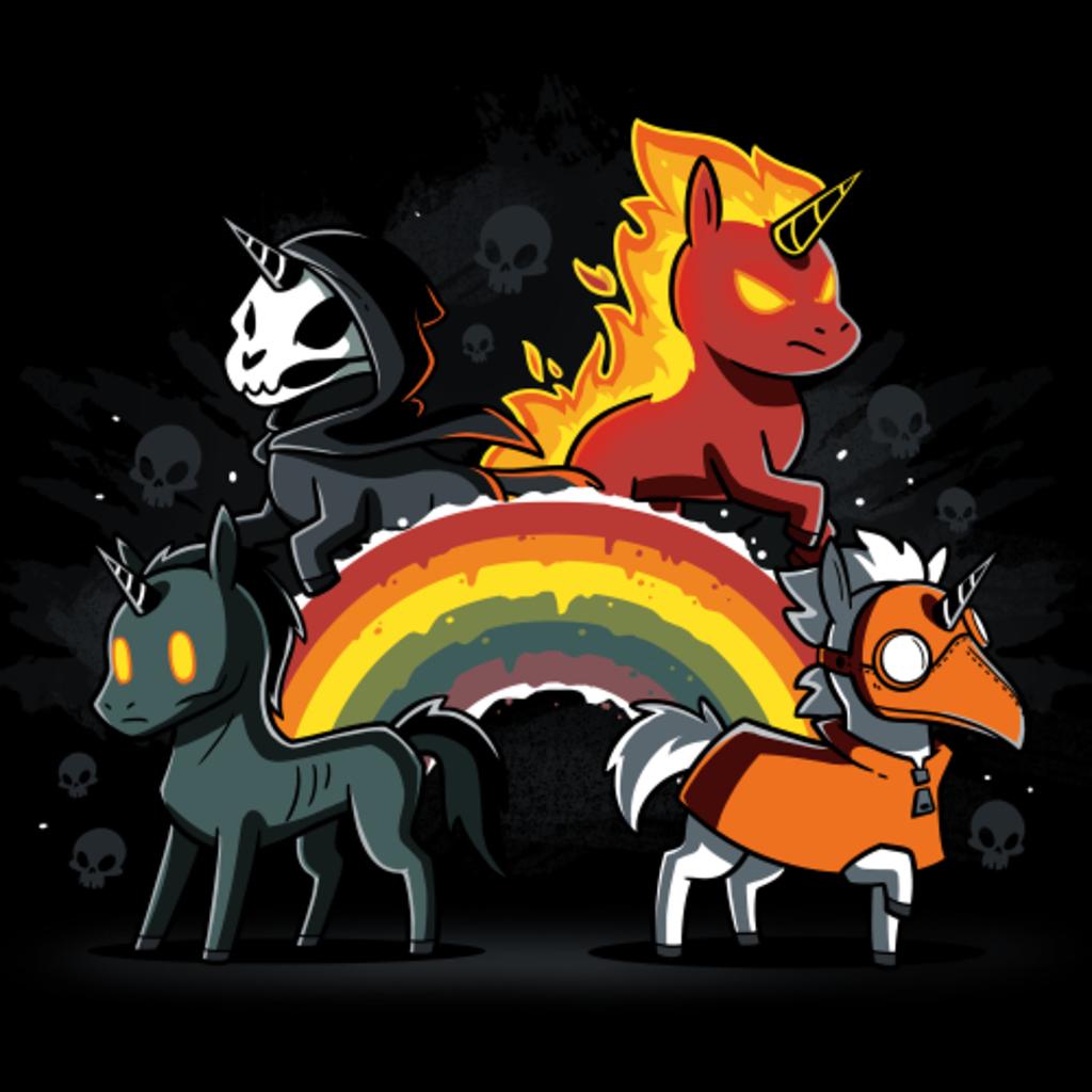 TeeTurtle: Four Unicorns of the Apocalypse (pt 2)