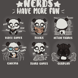 Qwertee: Nerds have Fun