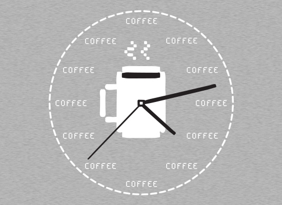 SnorgTees: Coffee O'Clock