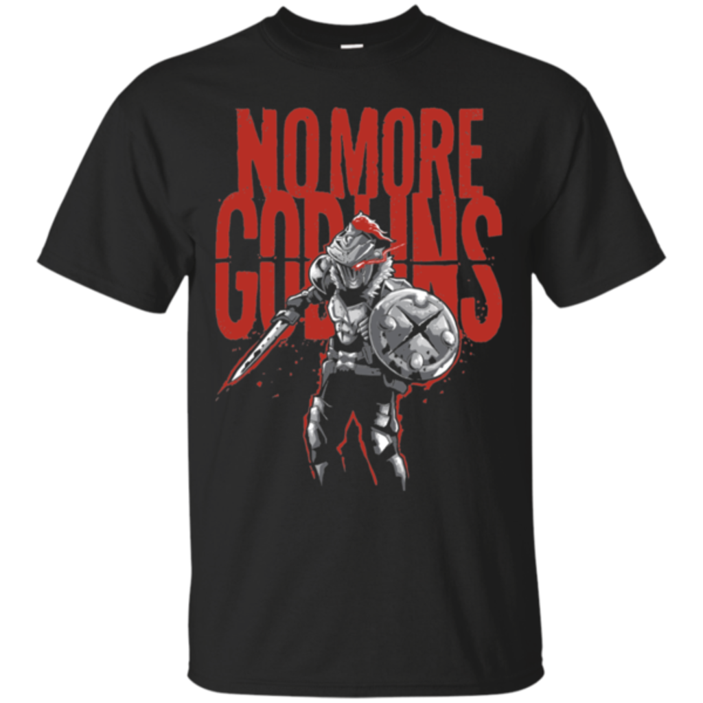 Pop-Up Tee: No More Goblins