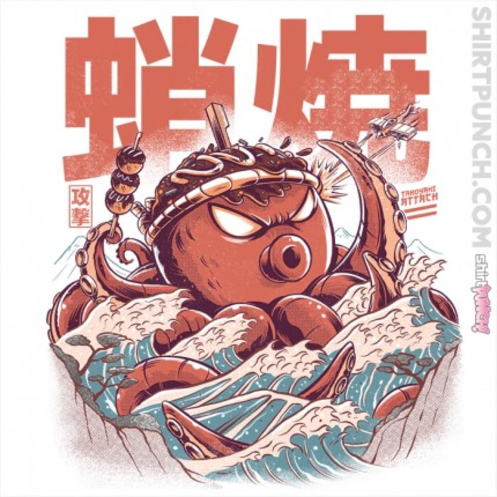 ShirtPunch: Takoyaki Attack!