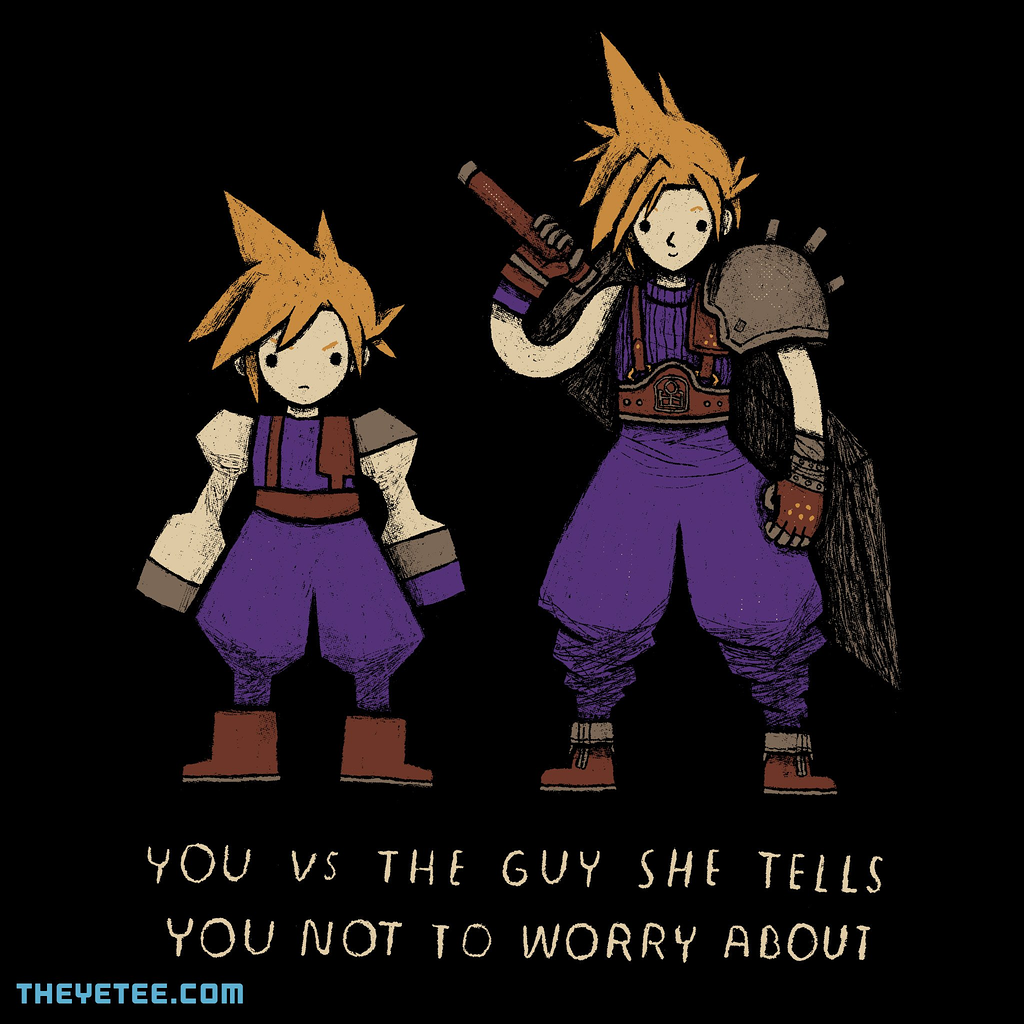 The Yetee: you vs the guy