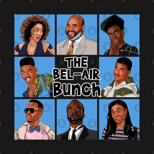 TeePublic: The Bel-Air Bunch