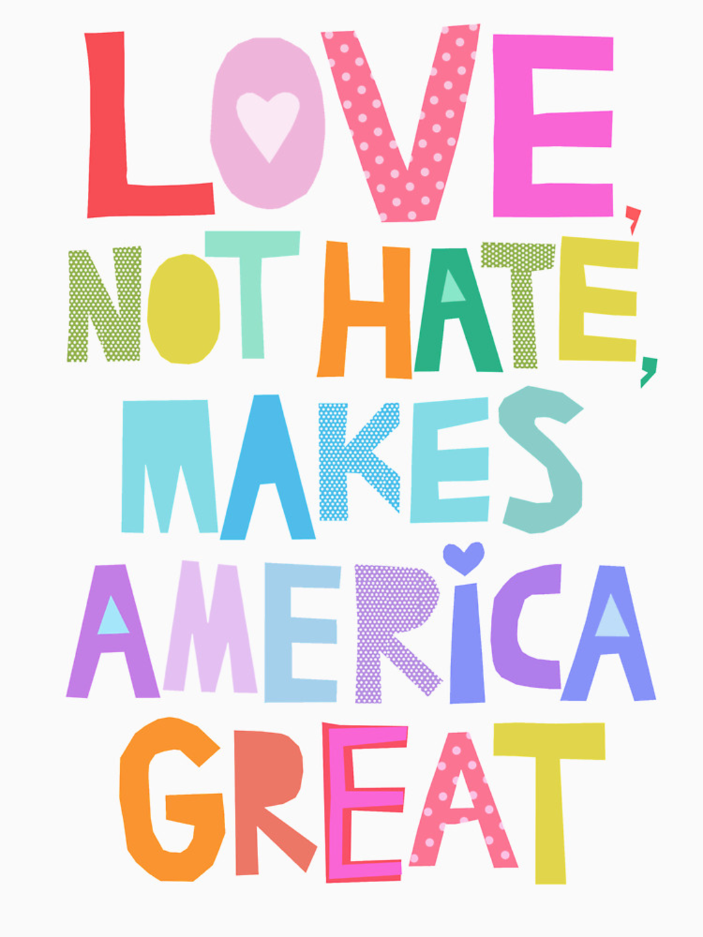 RedBubble: Love, not hate, makes America great