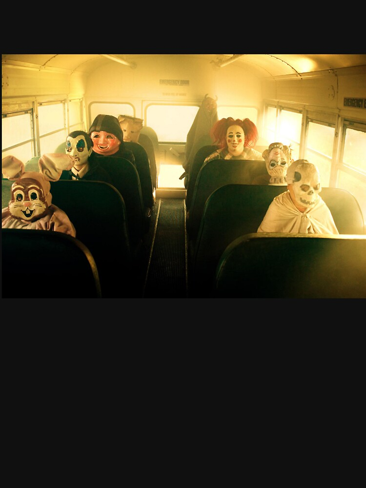 RedBubble: Masked School Bus Goers