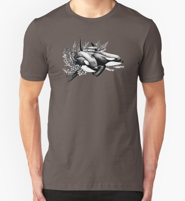 RedBubble: Orcas of Norway