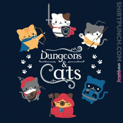 ShirtPunch: Dungeons & Cats