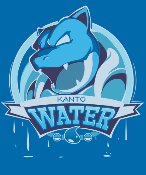 Qwertee: Team Water