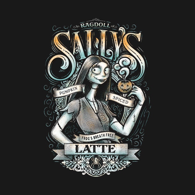 TeePublic: Sallys Spiced Pumpkin latte T-Shirt