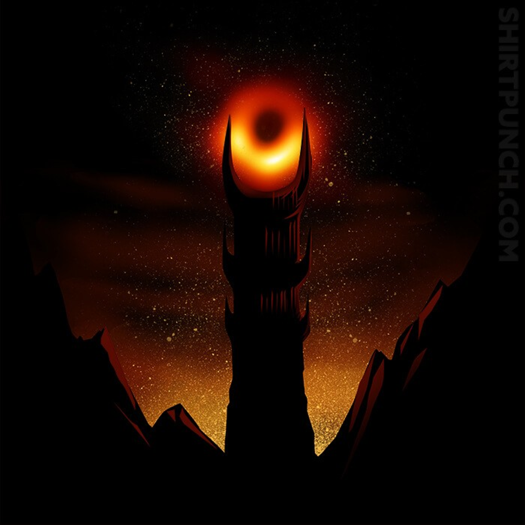 ShirtPunch: Black Hole Sauron