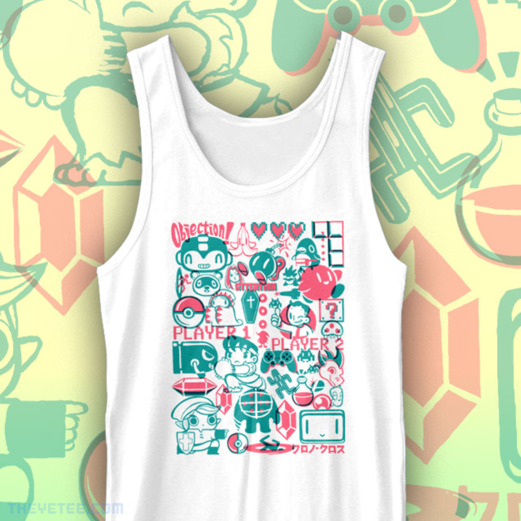 The Yetee: Let's play tank top!