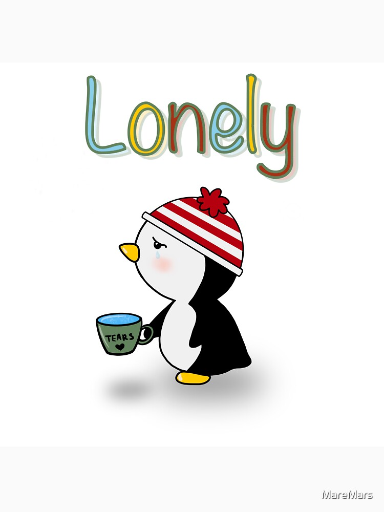 RedBubble: Lonely penguin