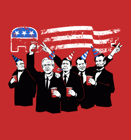 BustedTees: Republican Party