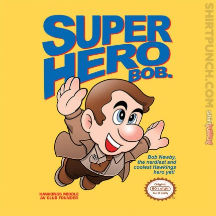 ShirtPunch: Super Hero Bob
