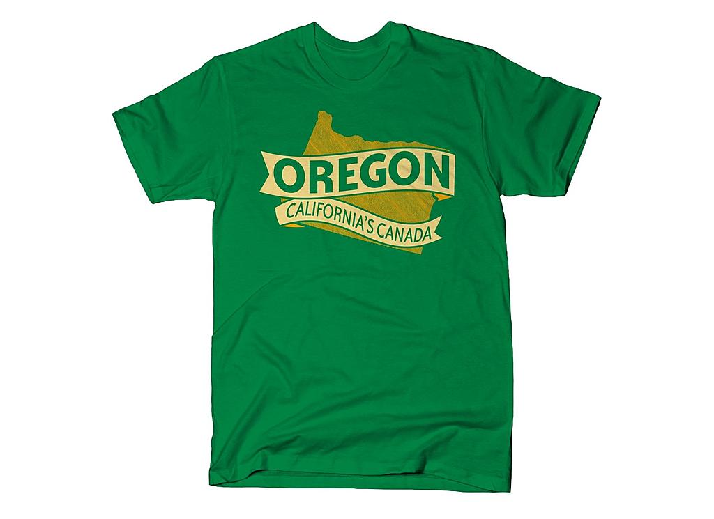 SnorgTees: Oregon California's Canada