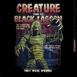 ShirtPunch: Creature From The Black Lagoon