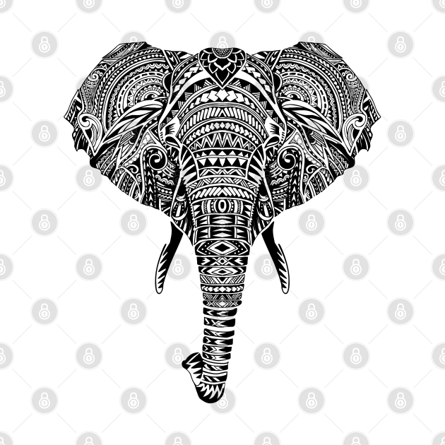 TeePublic: Polynesian Elephant