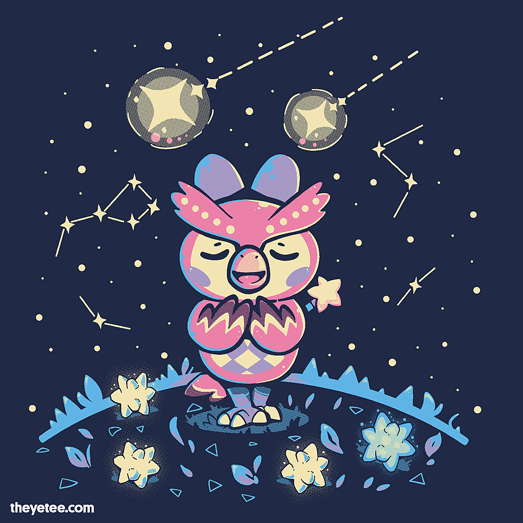 The Yetee: Starry Owl