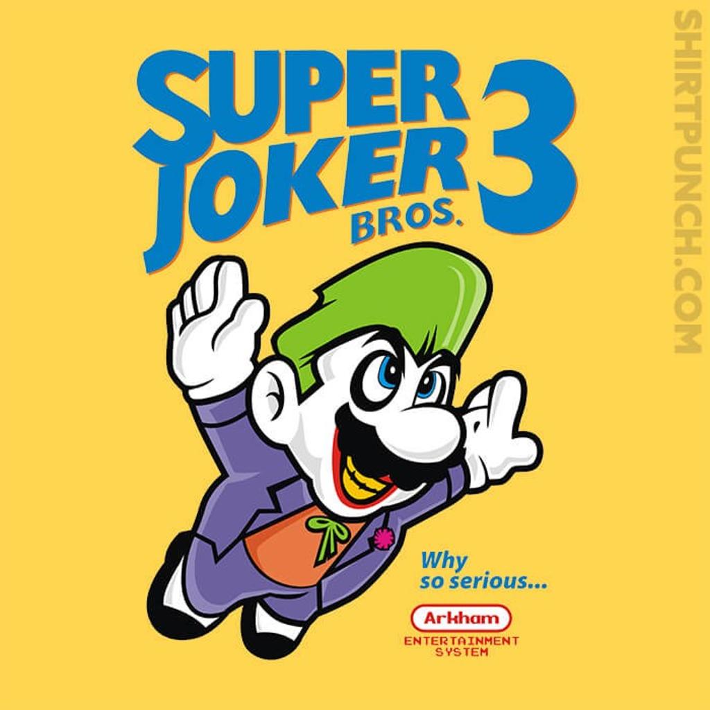 ShirtPunch: Super Joker Bros 3