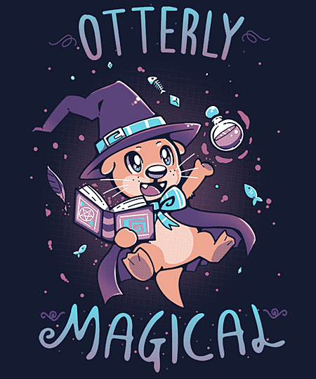 Qwertee: Otterly Magical
