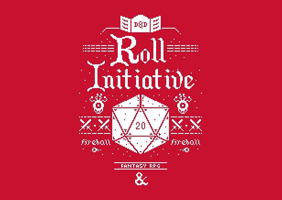 TeeFury: Roll Initiative