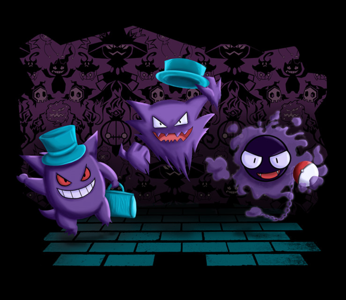 TeeFury: Going to Lavender Town?