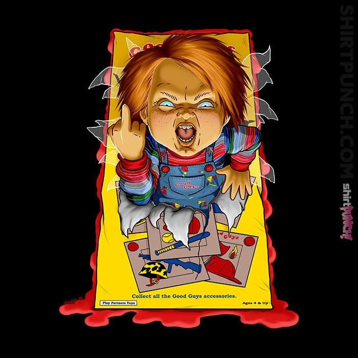 ShirtPunch: Chucky's Unboxing