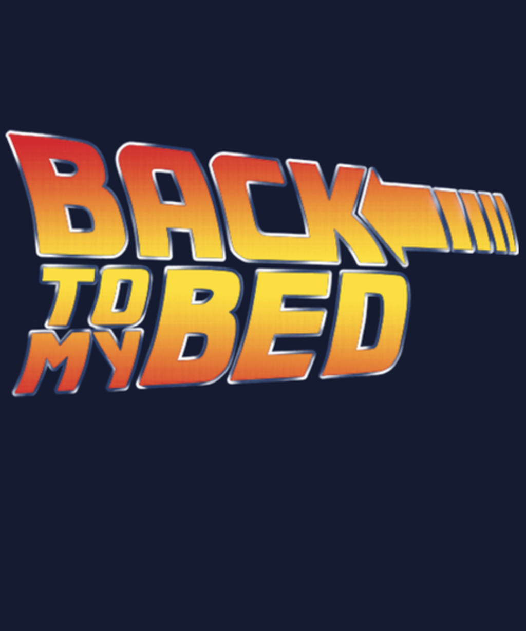 Qwertee: Back to bed