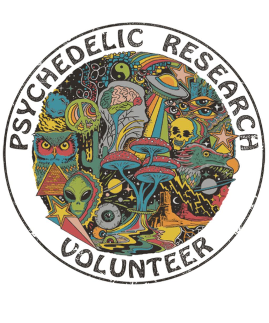 Qwertee: Psychedelic Research Volunteer